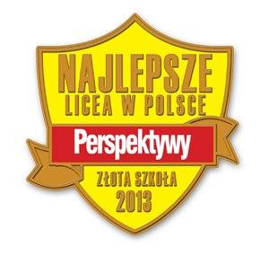 Złota szkoła 2013