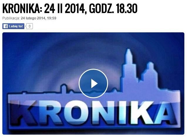 TVP Kraków 2014 Mam haka na raka