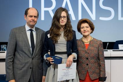 2014 Juvenes Translatores I miejsce