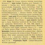 Archiwum   sprawozdanie  wykaz ksiązek na rok szkolny 1908 1909