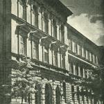 Drugi budynek szkoły na ul. Sobieskiego zdj. 1958