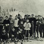 Historia szkoły  OBÓZ  narciarski 1955 r