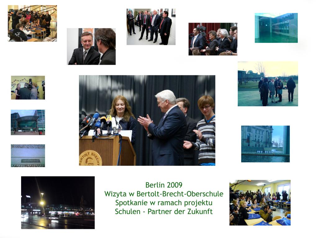 2009 Wizyta w Berlinie II Liceum w Krakowie