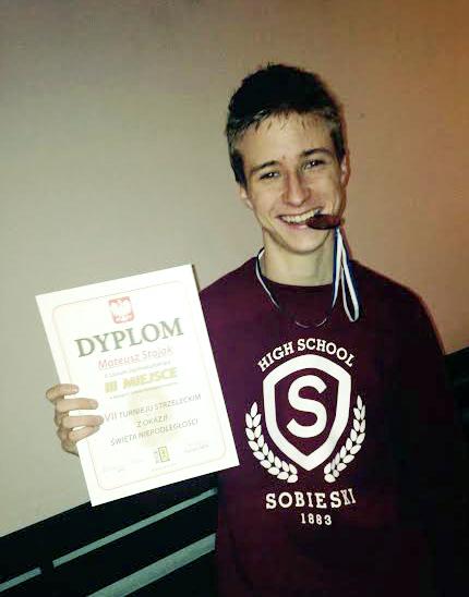 2014 Turniej strzelecki brązowy medal