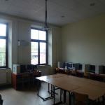 Budynek sala komputerowa