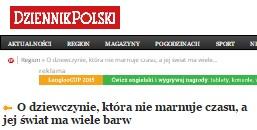 21-02-2015 Artykuł Dziennik Polski