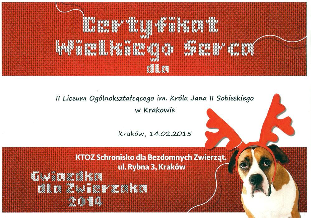 gwiazdka-dla-zwierzaka-certyfikat-2015-www