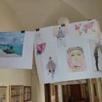 Wystawa prac plastycznych  uczniów 2015