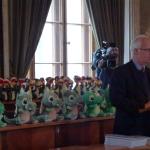 """Samorządowy Konkurs Nastolatków """"8 Wspaniałych 2015"""", koordynator konkursu Wojciech Hausner."""
