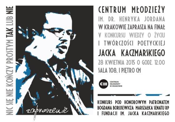 Jacek Kaczmarski Konkurs wiedzy 2015