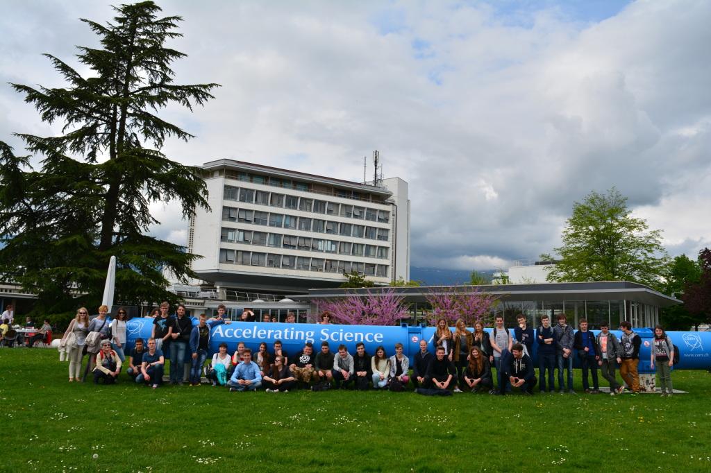 CERN wyprawa 2015