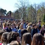 Pielgrzymka maturzystów do Częstochowy 2015
