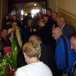 25-05-2015 Powitanie w szkole prof. Agaty Kornhauser-Dudy