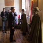 9.11.2010 Dr Andrzej Duda po odsłonięciu tablicy poświęconej generałom, absolwentom naszej Szkoły