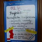 """Projekttag """"Berufliche perspektiven"""" w II LO w Krakowie 2015"""