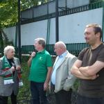 Mecz piłkarski Sobieski:Nowodworek 24.06.2015, Dyrektor II LO Marek Stępski