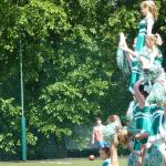 Mecz piłkarski Sobieski:Nowodworek 24.06.2015, cheerleaderki II LO