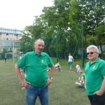 Mecz piłkarski Sobieski:Nowodworek 24.06.2015, trener prof. Maciej Gój
