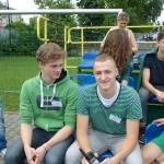 Mecz piłkarski Sobieski:Nowodworek 24.06.2015, ochrona z kl. 1E