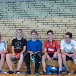 """Finał Szkolnej Ligi Futsalu """"Sobieski Futsal Cup"""" 2015 III miejsce klasa 1e"""