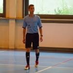 """Finał Szkolnej Ligi Futsalu """"Sobieski Futsal Cup"""" 2015 licencjonowany sędzia PPN Kraków  z klasy 1f"""