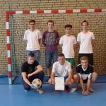 """Finał Szkolnej Ligi Futsalu """"Sobieski Futsal Cup"""" 2015  Wicemistrzowie klasa 2a"""