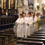 Msza święta w Bazylice OO. Karmelitów 1