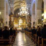 Msza święta w Bazylice OO. Karmelitów 2