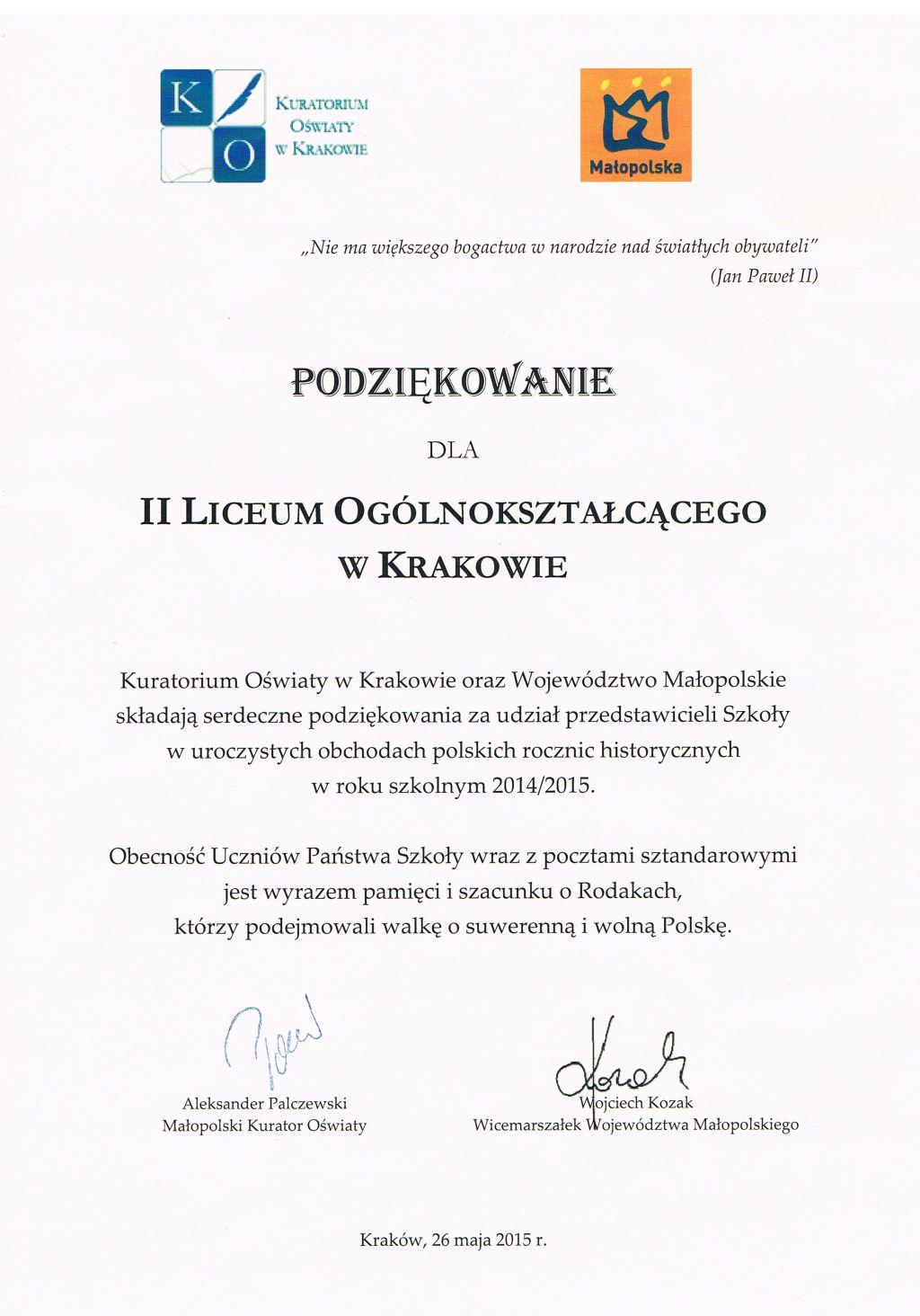 Obchody polskich rocznic historycznych