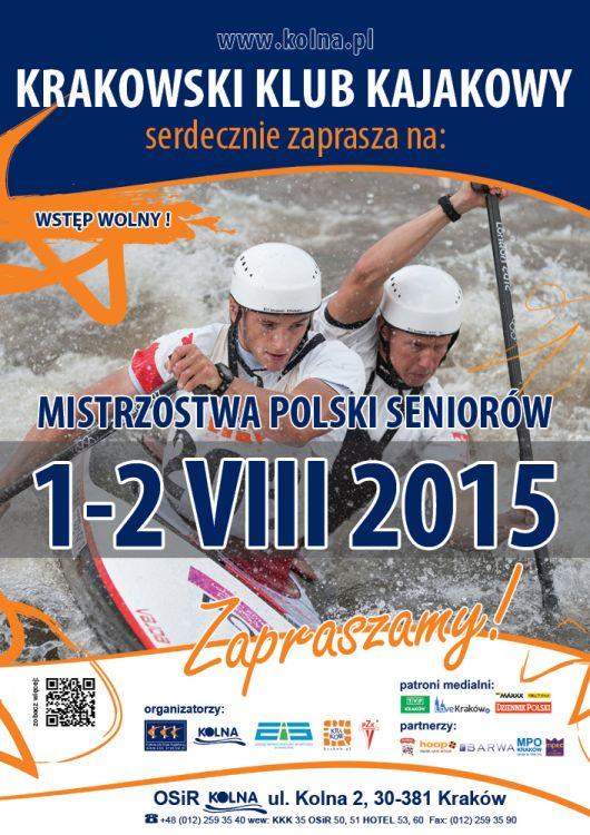 Mistrzostwa Polski Slalom Kajakowy 2015
