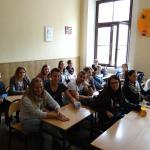 Uczniowie z bawarskiego Schwandorf w Krakowie 2015