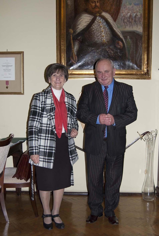 Konsul Węgier Dyrektor II LO w Krakowie