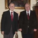 1. wizyta p. Wojciecha Starzyńskiego w II LO w Krakowie