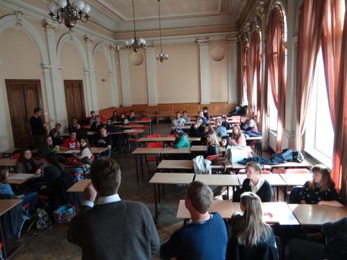 Spotkanie młodzieży angielskiej, niemieckiej i polskiej 04.11.2015