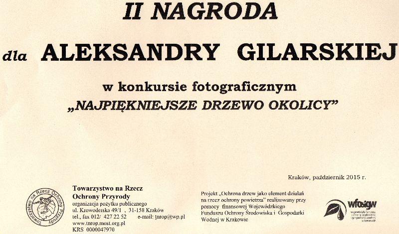 Aleksandra Gilarska