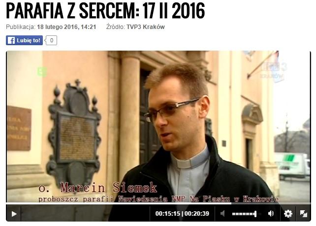 Reportaż 'Parafia z sercem' 2016 2