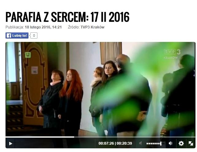 Reportaż 'Parafia z sercem' 2016