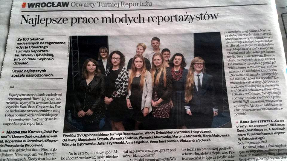 Ogólnopolski Turniej Reportażu im. Wandy Dybalskiej 2016 (6)