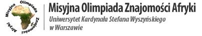 logo Olimpiada Misyjna Znajomości Afryki