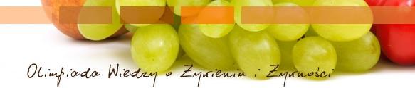 logo Olimpiada Wiedzy o Żywieniu i Żywności