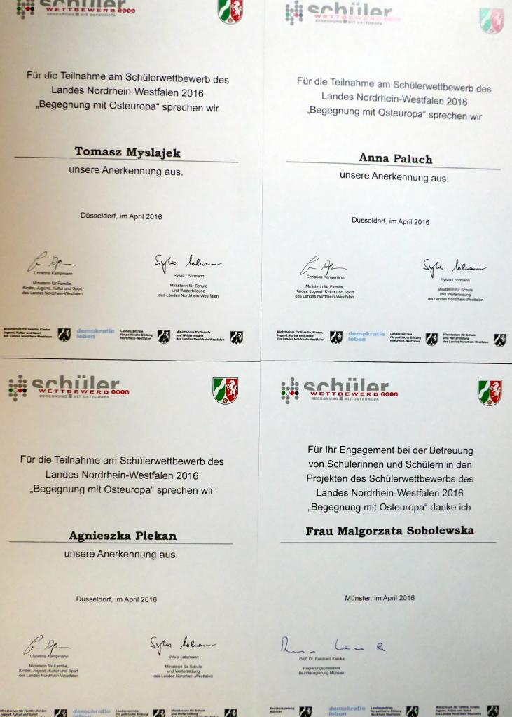 Międzynarodowy projekt Münster 2016