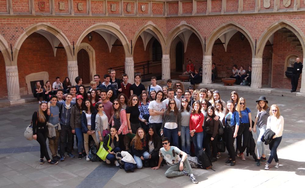 Rewizyta uczniów z Liceo C. Becarria z Mediolanu 2016 (2)