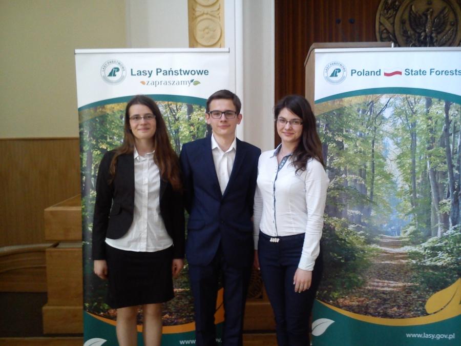 """Finał krajowy Międzynarodowego Konkursu """"Młodzież w Lasach Europy""""2015-2016 (1)"""