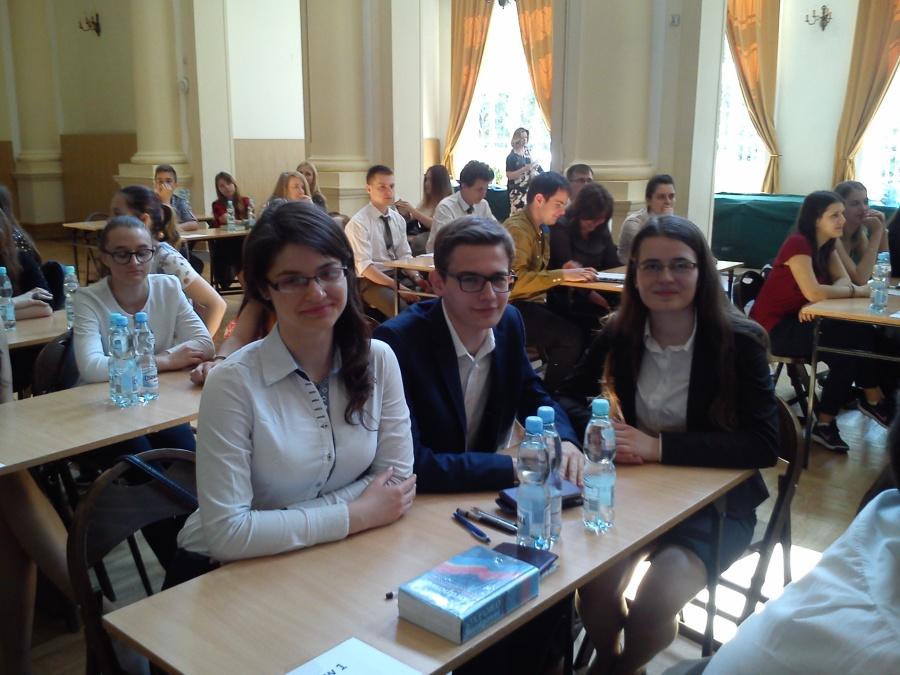 """Finał krajowy Międzynarodowego Konkursu """"Młodzież w Lasach Europy""""2015-2016 (2)"""