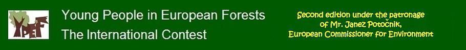 Młodzież w Lasach Europy logo