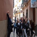 Wymiana Malaga 2016, na wąskich uliczkach starówki w Maladze