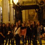 Wymiana Malaga 201, w katedrze sevillskiej przed grobem Krzysztofa Kolumba