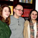 Iza Dudziak, Sebastian Hanek i Kasia Pędracka 2015