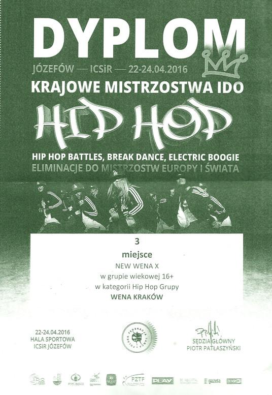 Krajowe Mistrzostwa IDO Polskiej Federacji Tańca 2016