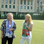 Mecz piłkarski Sobieski-Nowodworek 2016, Panie Prezydent obu szkół